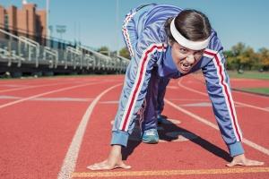 athlete-track